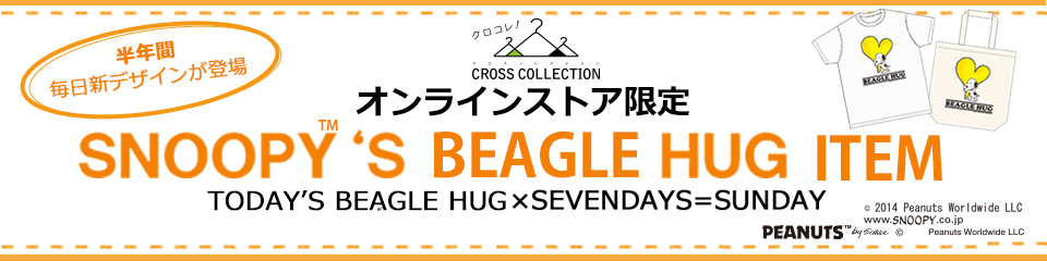 SNOOPY'S BEAGLE HUG ITEM