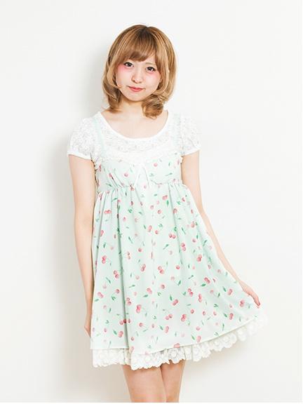 <b>Cherry</b> Camisole One Piece(23141H00040)/E hyphen world gallery <b>...</b>