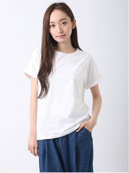 B胸ポケットユーズドTシャツ